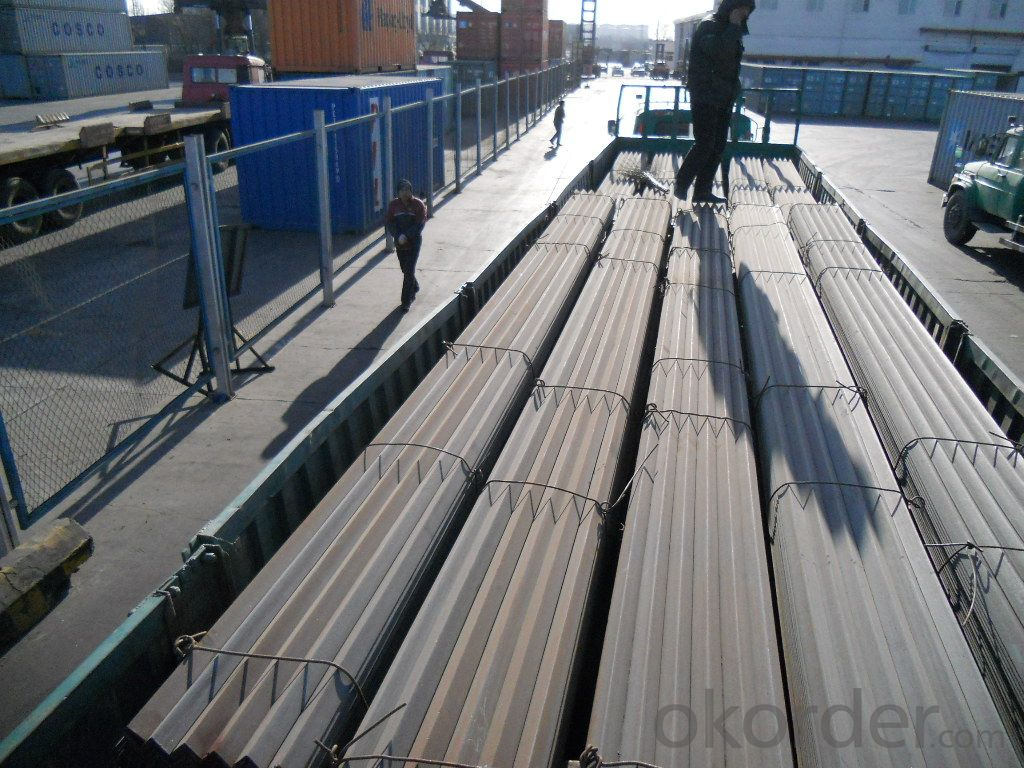 Hot Rolled  unequal Angle Steel  for  Transmission Towers