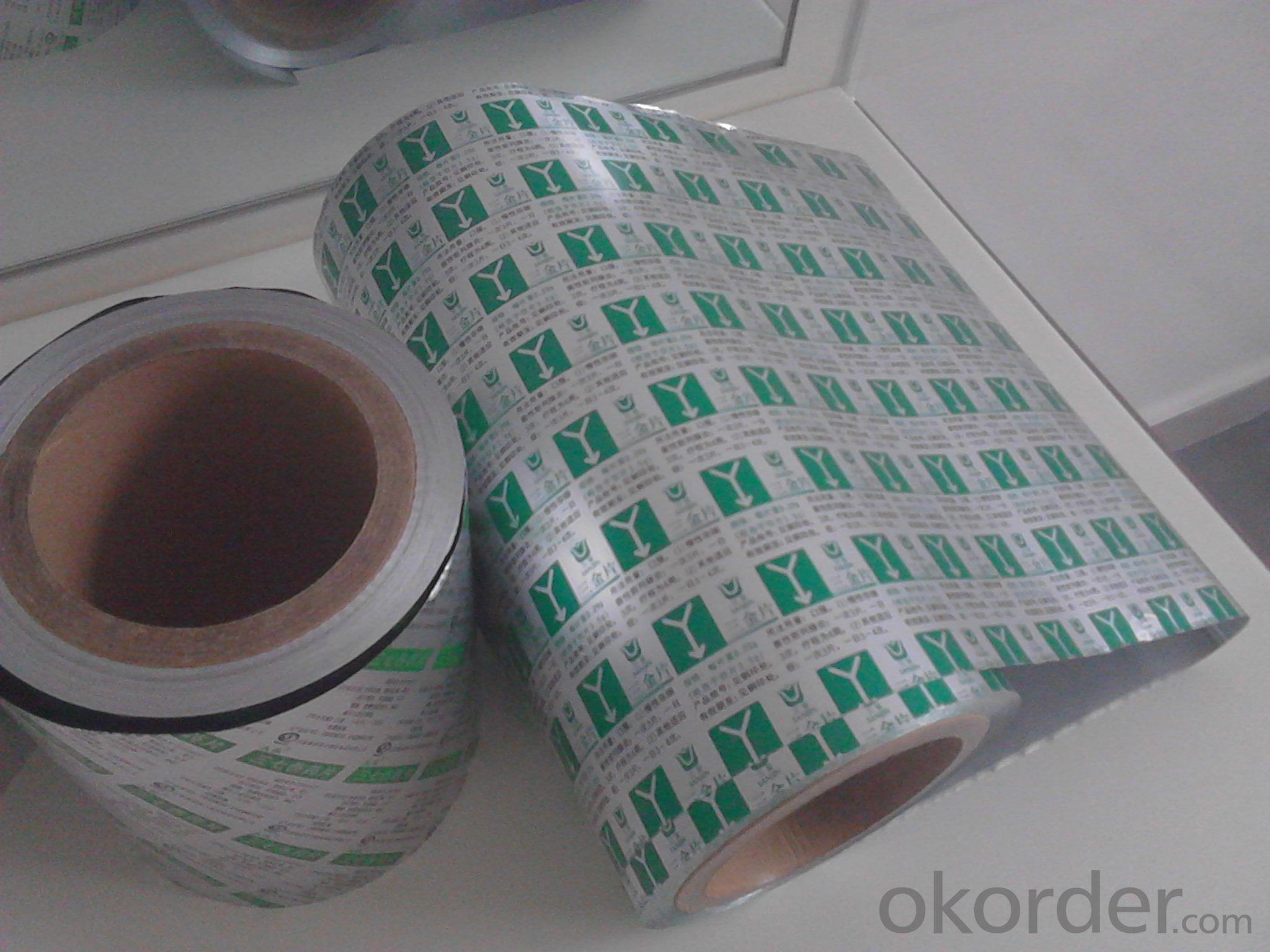 Aluminum Blister Foil 8079 HO/H18