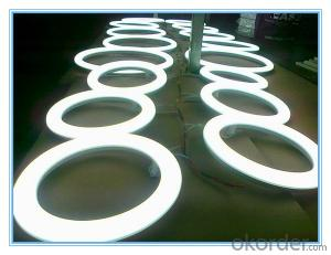 Rechargeable LED Circular Lighting Tube IP44 Round Shape