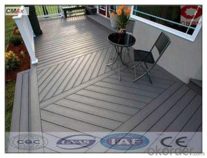 WPC Interlocking Composite Decking For Sale