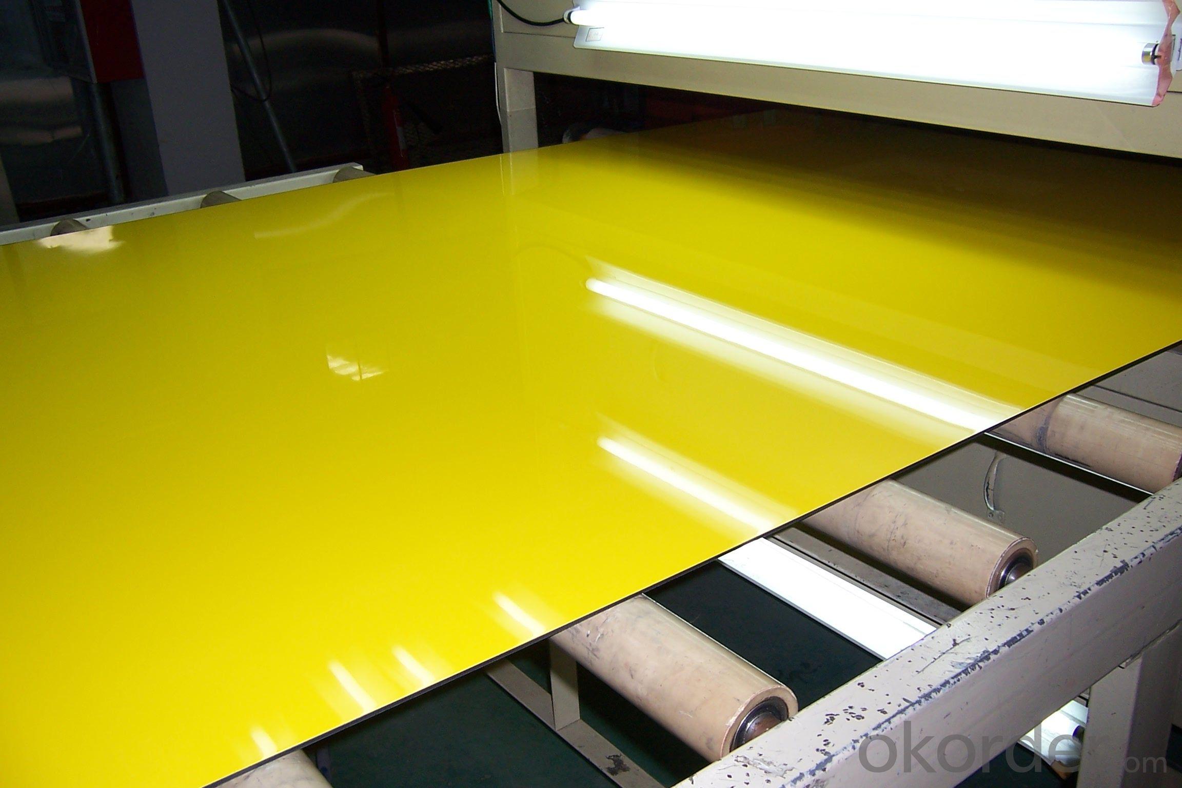 EN AW - 4017 PVDF Prepainted Aluminium Composite Panel
