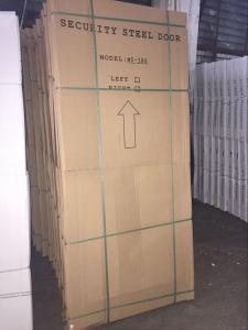 Security Metal doorFire Rated Steel Fire Door with BS and UL Certificate