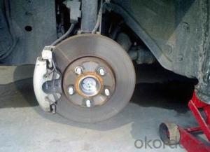Auto Car Brake Disc Price of Auto Chassis Parts for Nissan/Ford/Mazda/Mitsubishi/Toyota