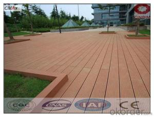 Wood Plastic Composite Wpc Flooring Tiles For Outdoor For Sale