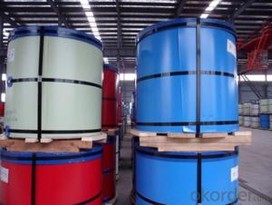 Roller Coating Line Blue Color PE Paint Aluminum Painted Coil