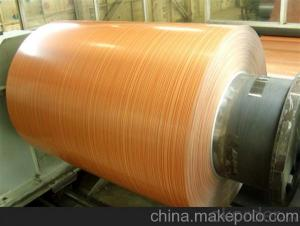 Roller Coating Line Yellow Color PE Paint Aluminum Painted Coil