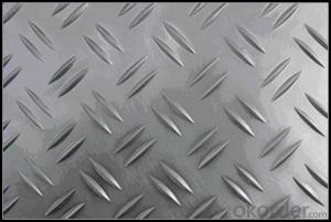 Embossed Aluminum Alloy Sheets 5052 for Anti-slip Step