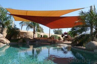 Polyester Shade Sail/HDPE Sail Sun Shade Car Park,Garden, Beach