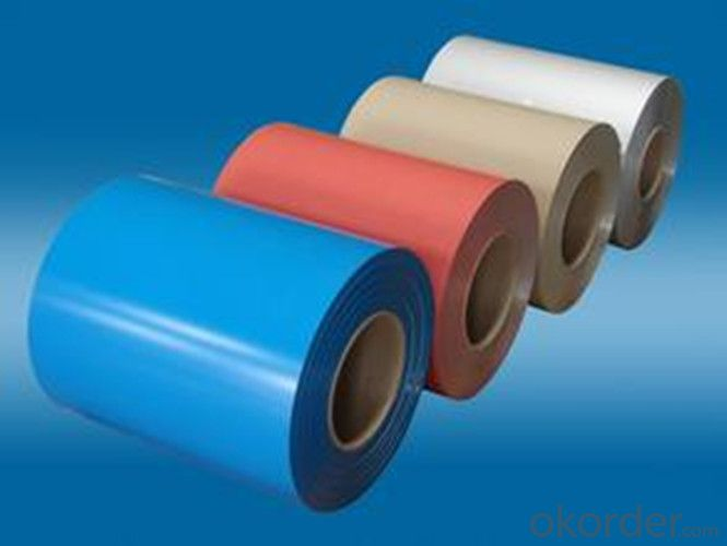 Color Coated Aluminum Coil AA8011 Aluminum Alloy