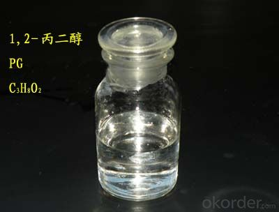 Propylene Glycol PG 99.5% 99.8%  from China