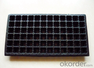 32 Plastic Nursery Tray & Lids Plastic Nursery Seed Plug Trays for Propagation