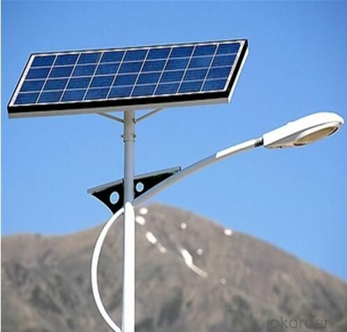 6m Solar LED Street Light with 40W LED Lamp