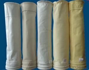 High temperature filter bag fiberglass needled felt filter bag