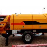 Bomba de concreto montada en camión modelo TM 80DL