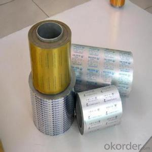 Pharmaceutical Aluminium Foil Pill and Package