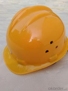 Industrial Safety Protective Hat with Rain Gutter and Vent Work Helmet
