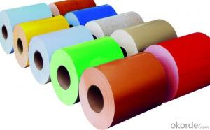 Color Coated Aluminum Coil Aluminum Roll Coating PE