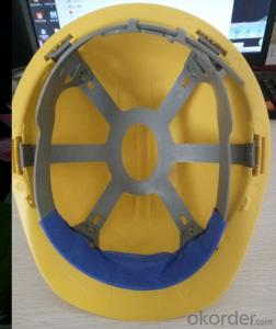 CE Certificate HDPE Or ABS Material Construction Safety Hat