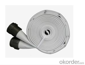 White Pvc Fire Hose, Fire Hose Pipe,Fire Fighting Hose/pvc lining fire hose