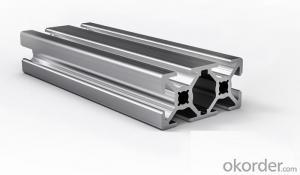 Aluminium section profiles for doors and windows