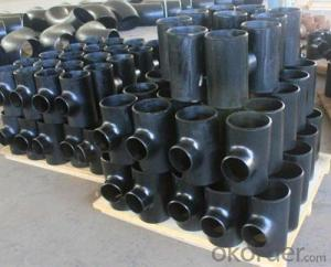 Carbon Steel Pipe Fitting Cross Tee Din2605