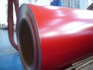 PE Solid and Metallic Color Coated Aluminium Coils with High Quality