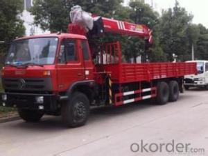 Broad, wide forest forest crane lorry crane, wide forest 8 tons vehicle hoists