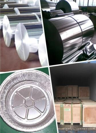 8011-H18 Aluminium Foil in Roll for Container