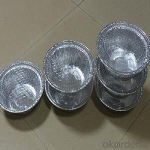 Aluminum Foil For Container With Lubricate of Usaging