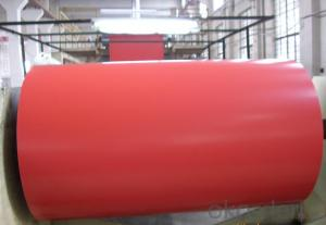 Red Color Coated Aluminum Coil Aluminum Roll Coating PE