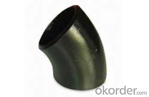 ASME B16.9 45 Degree Carbon Steel Pipe Elbow