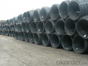 Mild Steel Prime Hot Rolled Wire Rod in Coil