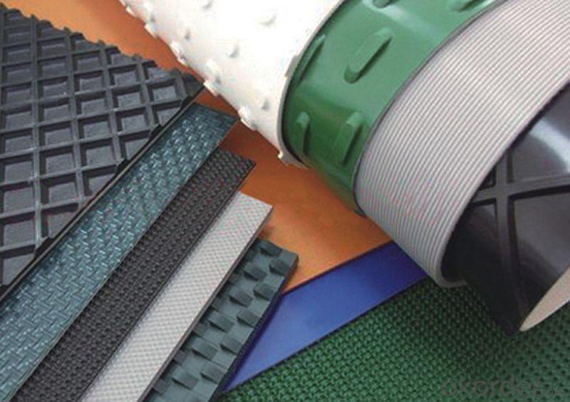 Food Processing PVC Conveyor Belt PU Conveyor Belt