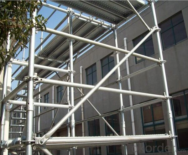 Buy Ring Lock Scaffolding With Cold Galvanized Surface
