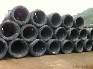 Wholesale 8.5mm steel wire rod in coils from Bao Steel