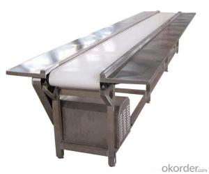 PU Conveyor Belt White Food Grade Industrial Belt Conveyor