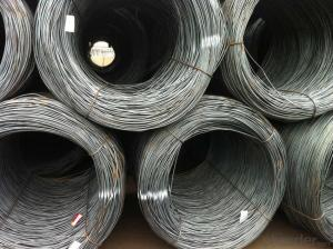 Supply 8.5mm steel wire rod with competitive price
