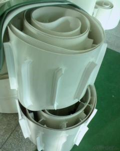 Green White Color PVC & PU Conveyor Belt for Food Industry