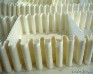 White PU Conveyor Belt  Food Grade Belt