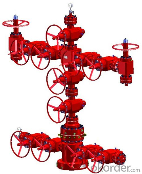 API Wellhead Christmas Tree for Oil and Gas Field