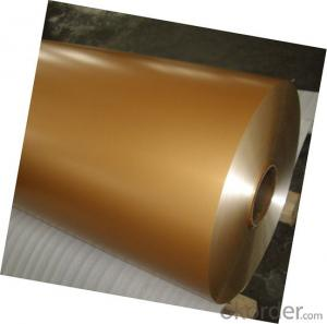 Color Coated Aluminum Coil Aluminum Roll Standard
