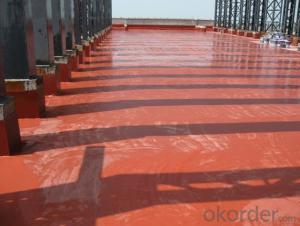 Single Component SPU Overstrength Elastic Waterproofing Coating