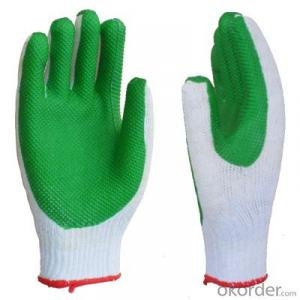 Floral Printed Polyester Nitrile Coated Glove, Garden Glove, Nitrile Work Gloves
