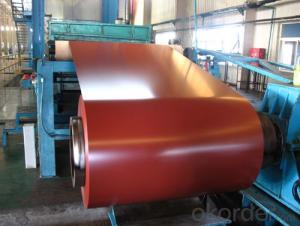 Red Color Coated Aluminum Coil Aluminum Roll Coating PE 0T