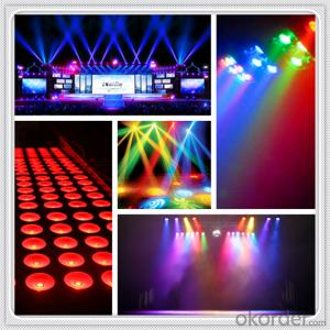 led zoom moving head led stage B-eye 19pcs RGBW 4in1 10w