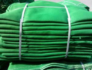 HDPE Blue Fabric HDPE Debris Mesh Net 120G
