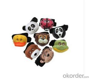 Various Animal Shaped Head Lamp /Kids Head Lamp