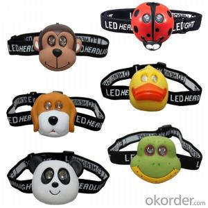 Lovely Head Lamps with Customized Braided Logo