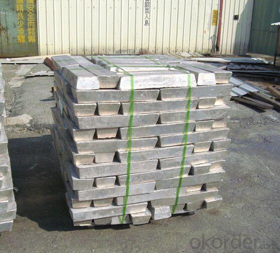 Magnesium Ingot 99.99% 99.95% Purity in China