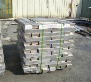 Magnesium Ingot 99.99% 99.95% Purity in China